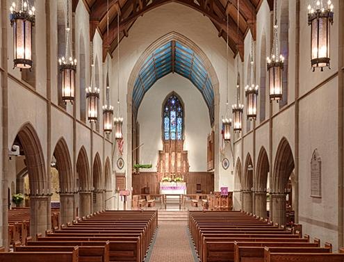 St. Stephen's Episcopal Church interior architecture