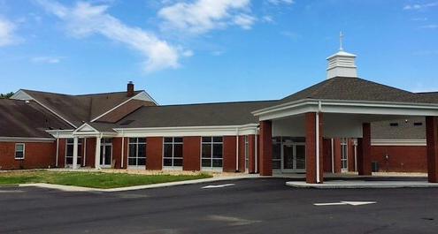Providence Baptist Church 3D Exterior Render