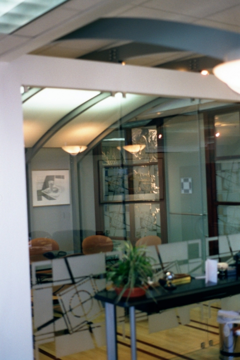 McDonalds Corporate Office Interior Architecture Detail