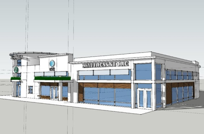 IONIC retail architectural rendering 2