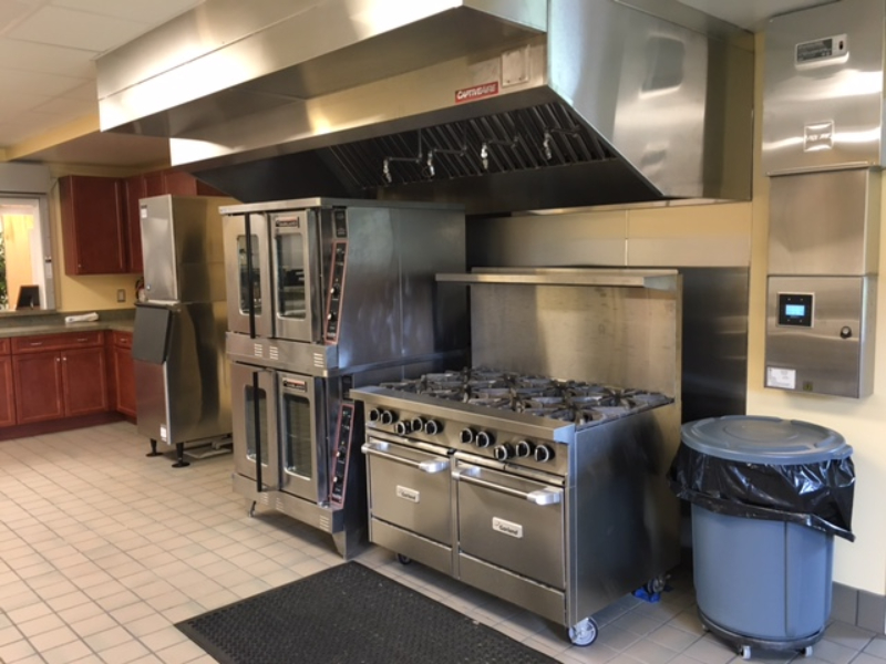 Providence Baptist Church kitchen layout