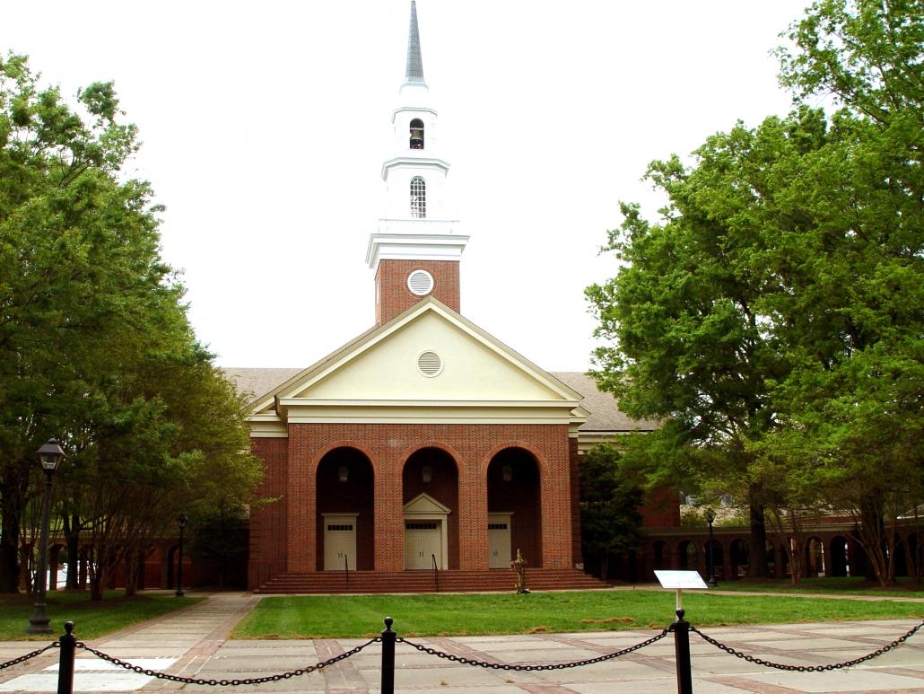 Exterior Second Baptist Church