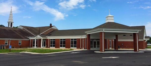 Providence Baptist Church Rendering
