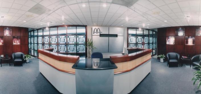 McDonalds Corporate Office Custom Entry