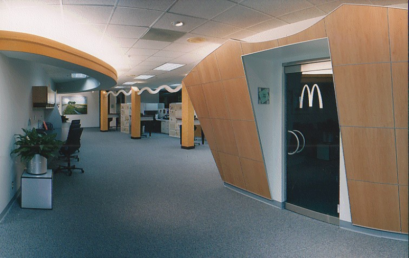 McDonalds Corporate Office Interior Detail