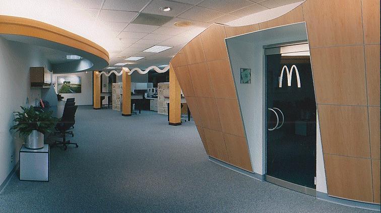 McDonalds Corporate Office Design Detail