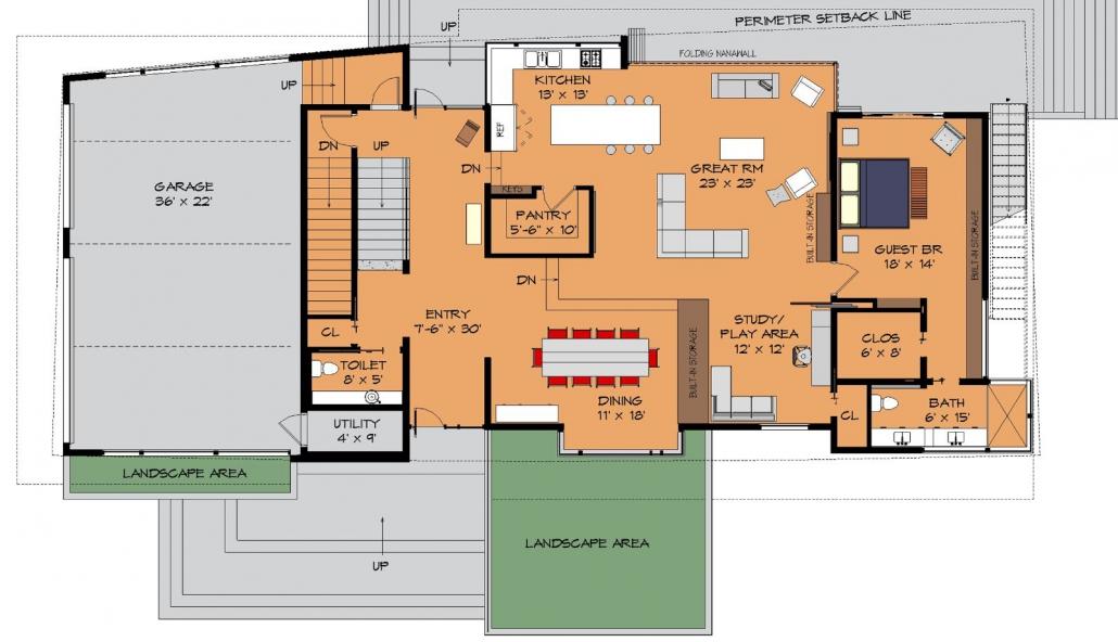 Bay Island Residence Concept Floorplan