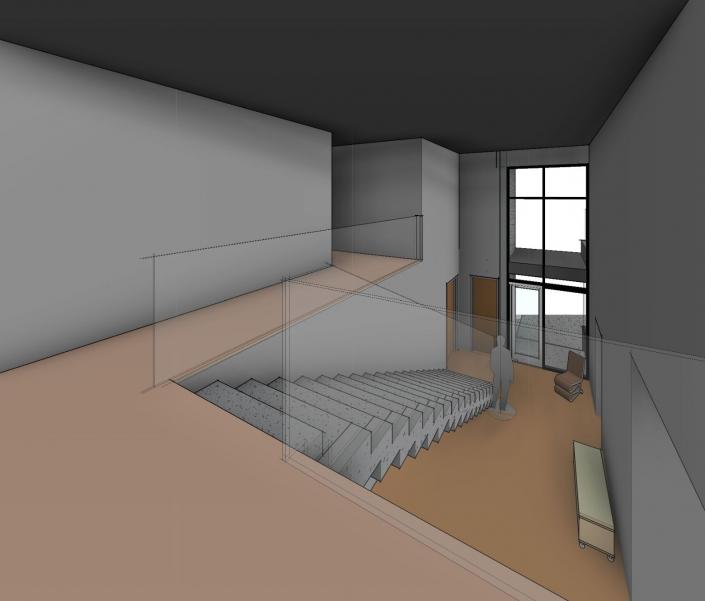 Bay Island Residence Concept Interior 3D Render