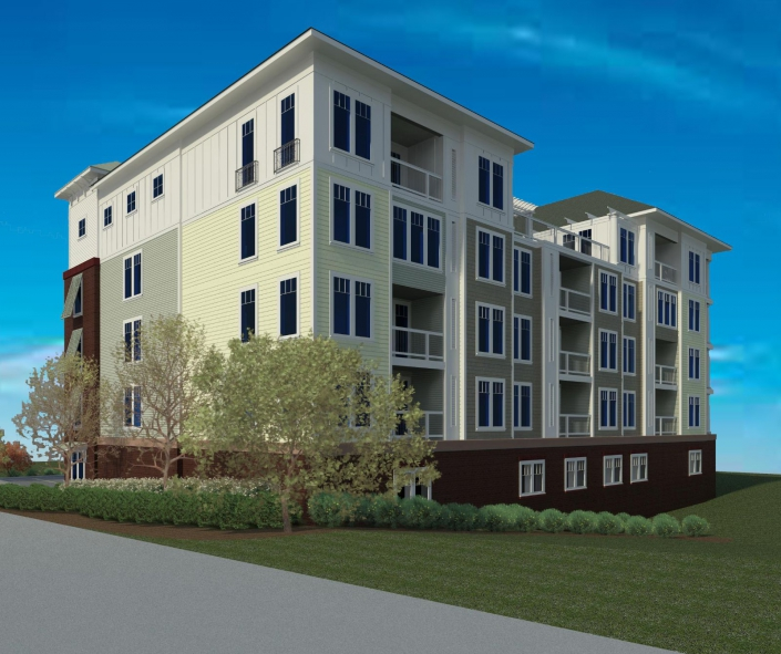 1st Bay Residential Render