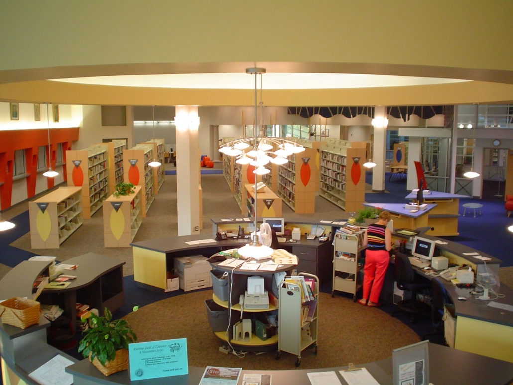 Gloucester County Library interior