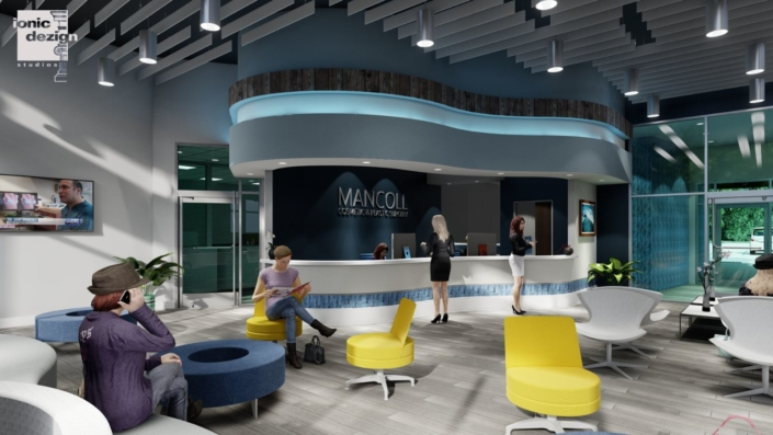 Mancoll Cosmetic and Plastic Surgery interior concept