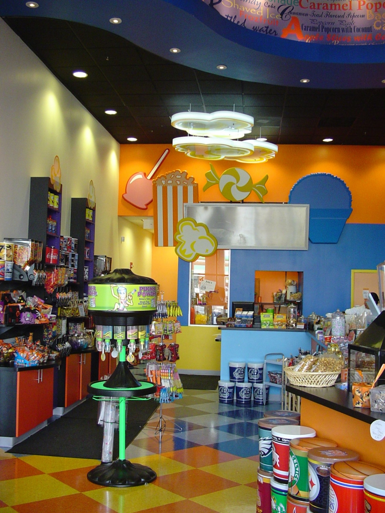 Jody's Popcorn retail space