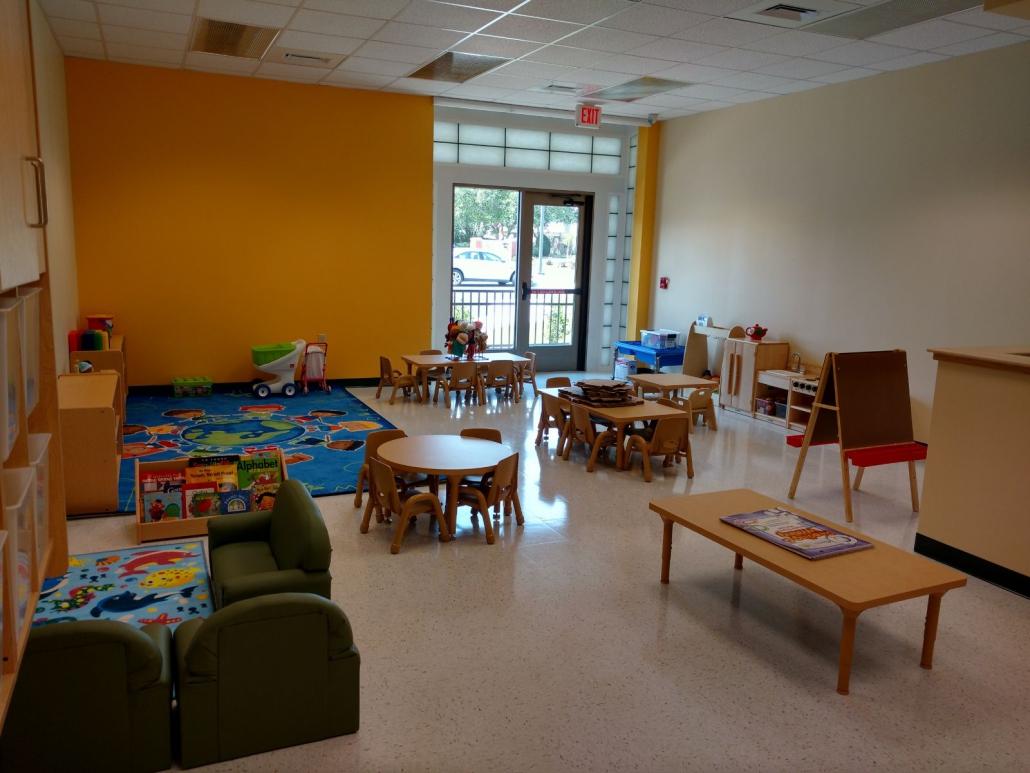 Kiddie Academy preschool interior