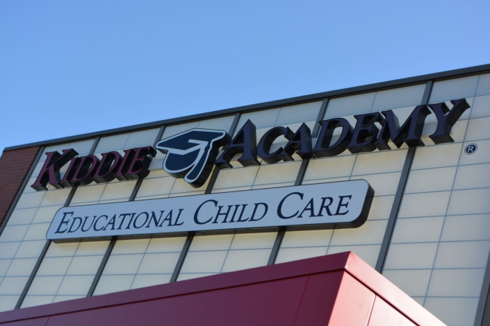 Kiddie Academy preschool exterior