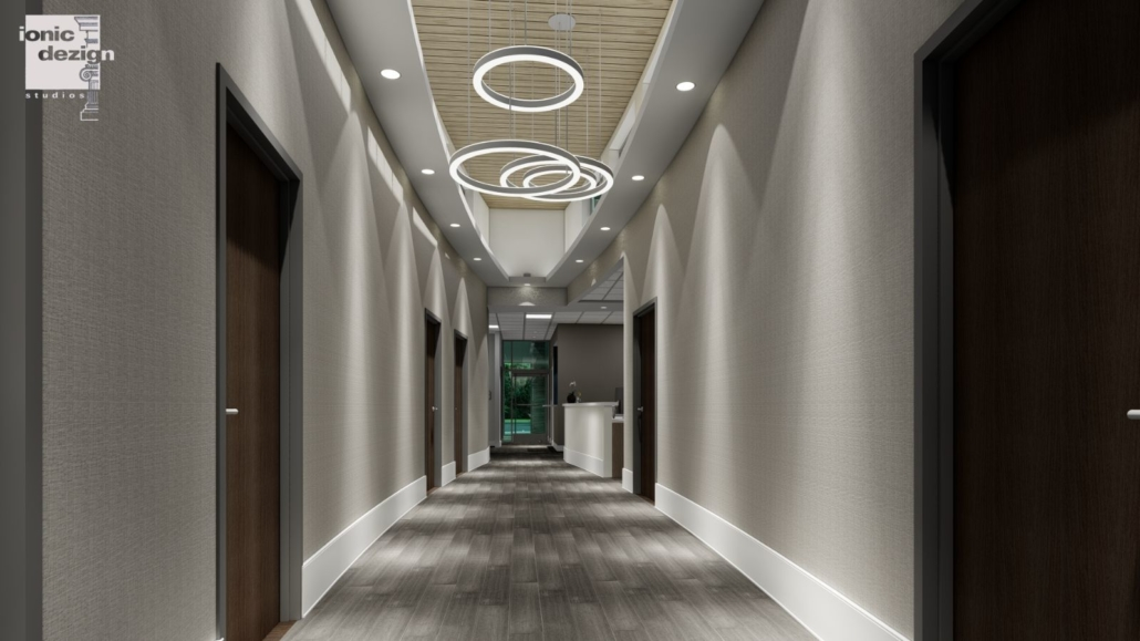 Mancoll Cosmetic and Plastic Surgery hallway concept