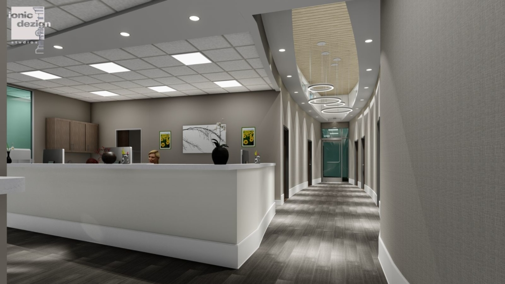 Mancoll Cosmetic and Plastic Surgery hallway concept 2