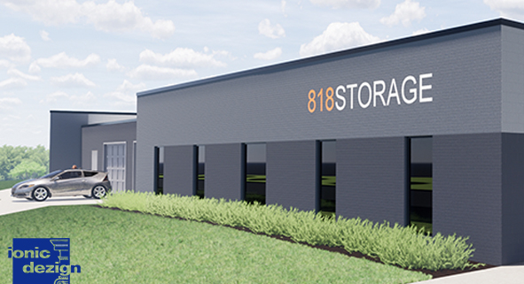 Commercial Property build with IONIC Design Studios