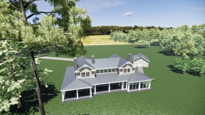 surry cottage render